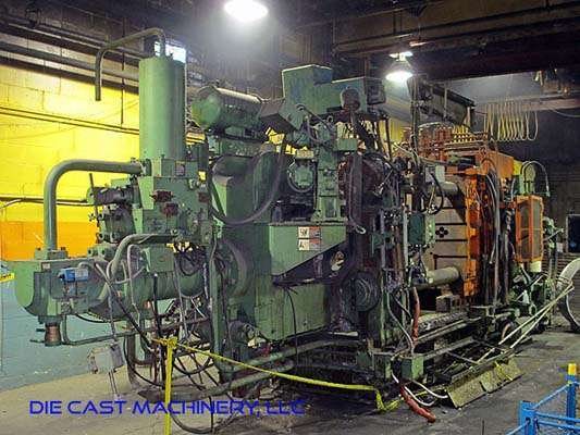 Picture of Toshiba DC800CE Horizontal Cold Chamber Aluminum High Pressure Die Casting Machine For Sale DCMP-2965
