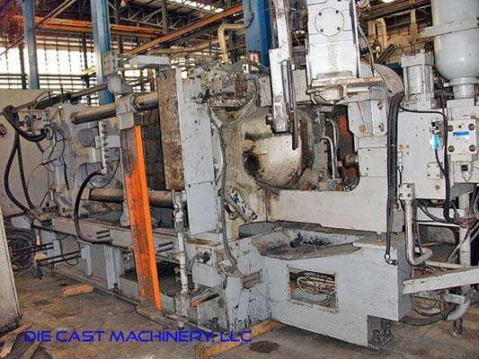 Picture of Toyo Machinery BD-350V5 Horizontal Cold Chamber Aluminum High Pressure Die Casting Machine For Sale DCMP-2984