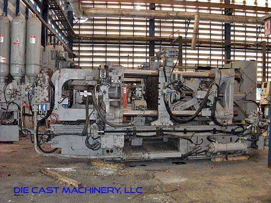 Picture of Toyo Machinery BD-350V5 Horizontal Cold Chamber Aluminum High Pressure Die Casting Machine For Sale DCMP-2985