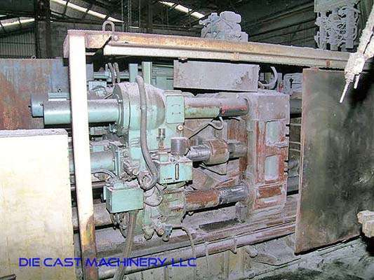 Picture of Toshiba DC 500 Horizontal Cold Chamber Aluminum High Pressure Die Casting Machine For Sale DCMP-2990