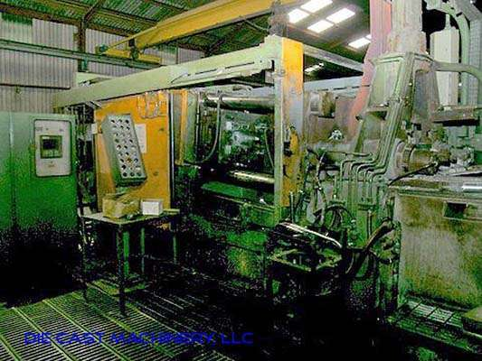 Picture of Idra OL/MG 320I Horizontal Hot Chamber Magnesium High Pressure Die Casting Machine For Sale DCMP-2992