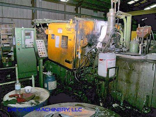 Picture of Idra OL/Z 125 PRP Horizontal Hot Chamber Zinc (Zamak) High Pressure Die Casting Machine For Sale DCMP-3008
