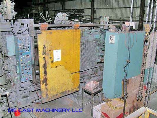 Picture of Toshiba DC 500 C Horizontal Cold Chamber Aluminum High Pressure Die Casting Machine For Sale DCMP-3011