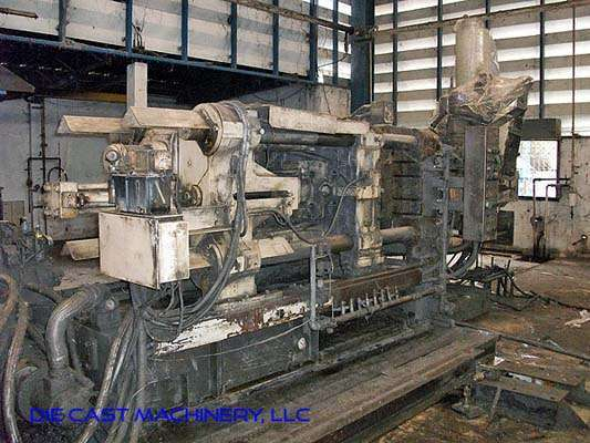 Picture of Toshiba DC250J-MT Horizontal Cold Chamber Aluminum High Pressure Die Casting Machine For Sale DCMP-3018