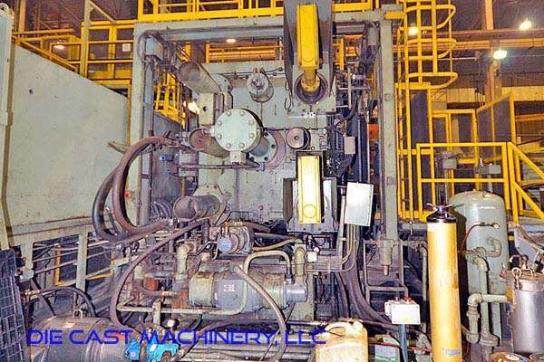 Picture of Toshiba DC-1650-CS Horizontal Cold Chamber Aluminum High Pressure Die Casting Machine For Sale DCMP-3020