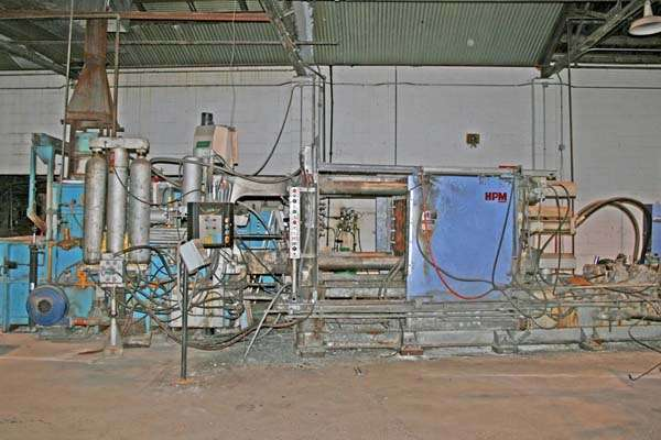 Picture of Kux Machinery HP-500 Horizontal Cold Chamber Aluminum High Pressure Die Casting Machine For Sale DCMP-3026
