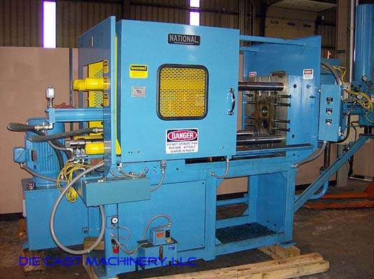 Picture of National H150AXV Horizontal Cold Chamber Aluminum High Pressure Die Casting Machine For Sale DCMP-3031