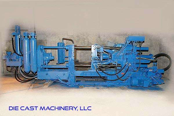 Picture of Buhler H-250B Horizontal Cold Chamber Aluminum High Pressure Die Casting Machine For Sale DCMP-3032
