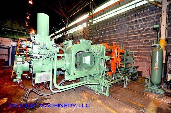 Picture of Toshiba DC-650-CLT Horizontal Cold Chamber Aluminum High Pressure Die Casting Machine For Sale DCMP-3038