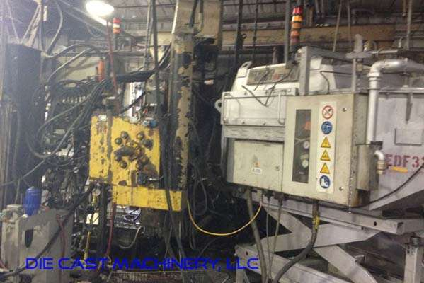 Picture of HPM II-600-A Horizontal Cold Chamber Aluminum High Pressure Die Casting Machine For Sale DCMP-3098
