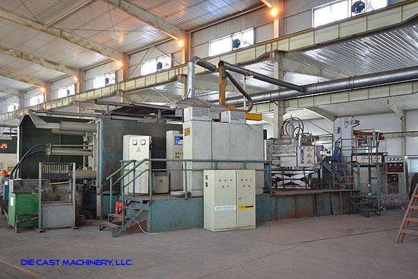 Picture of Buhler Classic 180 D Horizontal Cold Chamber Aluminum/Magnesium Capable High Pressure Die Casting Machine For Sale DCMP-3104