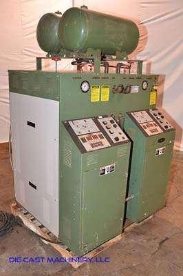 Picture of Sterlco M2B 9026-JO Dual (two) Zone Portable Hot Oil Process Heater Temperature Control Unit For Sale DCMP-3107