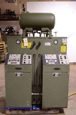 Picture of Sterlco M2B 9026-JO Dual (two) Zone Portable Hot Oil Process Heater Temperature Control Unit For Sale DCMP-3108