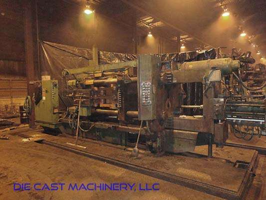 Picture of HPM II-600-A Horizontal Cold Chamber Aluminum High Pressure Die Casting Machine For Sale DCMP-3109