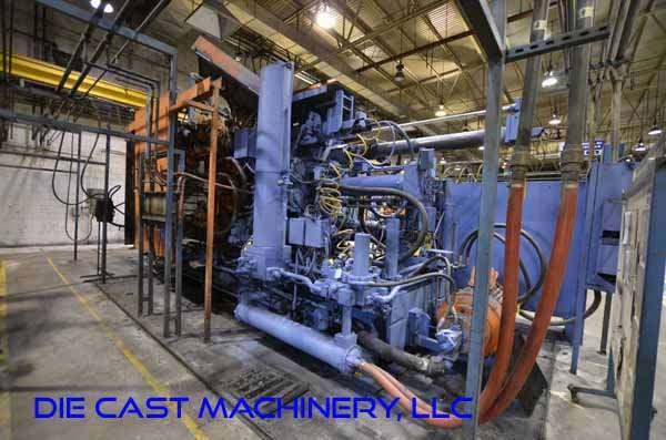 Picture of Prince 940 CCA Horizontal Cold Chamber Aluminum High Pressure Die Casting Machine For Sale DCMP-3125