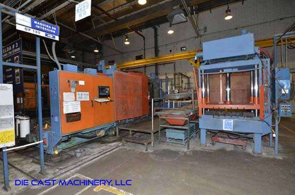 Picture of HPM II-900-A Horizontal Cold Chamber Aluminum High Pressure Die Casting Machine For Sale DCMP-3126