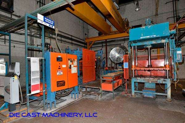 Picture of HPM II-600-A Horizontal Cold Chamber Aluminum/Magnesium Capable High Pressure Die Casting Machine For Sale DCMP-3133