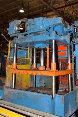 Picture of Metal Mechanics 50-T Four Column (Post) Vertical Hydraulic Die Casting Trim Press For Sale DCMP-3147
