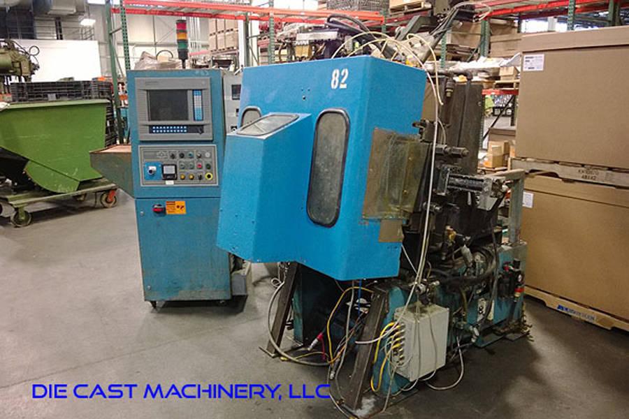 Picture of Techmire 66ZNT (6x6) Four Slide/Multi-slide Hot Chamber Zinc (Zamak) High Pressure Die Casting Machine For Sale DCMP-3151