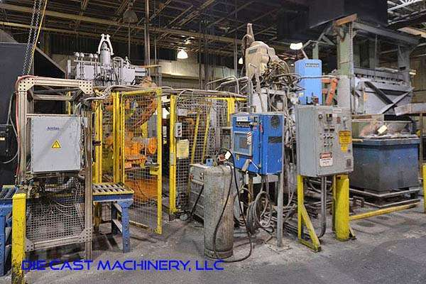 Picture of HPM II-800-A Horizontal Cold Chamber Aluminum High Pressure Die Casting Machine For Sale DCMP-3166
