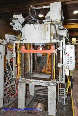 Picture of Metal Mechanics 35-T Four Column (Post) Vertical Hydraulic Die Casting Trim Press For Sale DCMP-3171