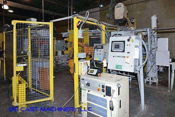 Picture of HPM II-600-A Horizontal Cold Chamber Aluminum High Pressure Die Casting Machine For Sale DCMP-3172
