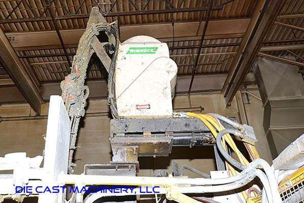 Picture of Rimrock 410 Multi-Link Automatic Reciprocating Die Lubrication Sprayer for Die Casting and Foundry Operations For Sale DCMP-3175