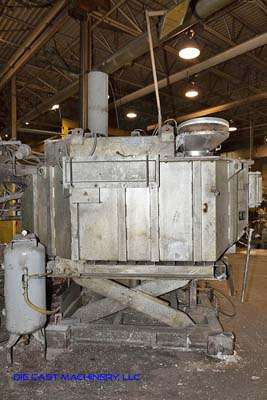Picture of Striko Westofen W 1700 S ProDos Low Energy Electric Heated Aluminum Holding and Dosing Furnace For Sale DCMP-3183
