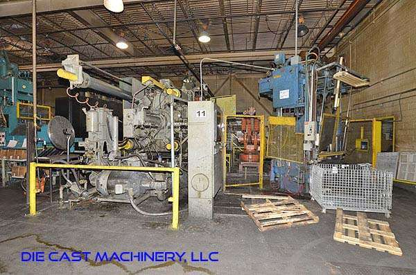 Picture of Prince 1246 CCA Horizontal Cold Chamber Aluminum High Pressure Die Casting Machine For Sale DCMP-3194