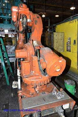 Used ABB IRB 6600 2 400 Meter Six Axis Robot with Extractor