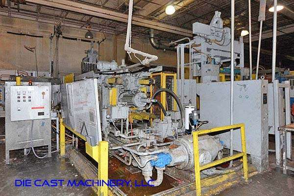 Picture of HPM II-800-A Horizontal Cold Chamber Aluminum High Pressure Die Casting Machine For Sale DCMP-3221