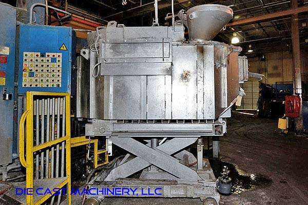 Picture of Striko Westofen W 1700 SL ProDos Low Energy Electric Heated Aluminum Holding and Dosing Furnace For Sale DCMP-3227
