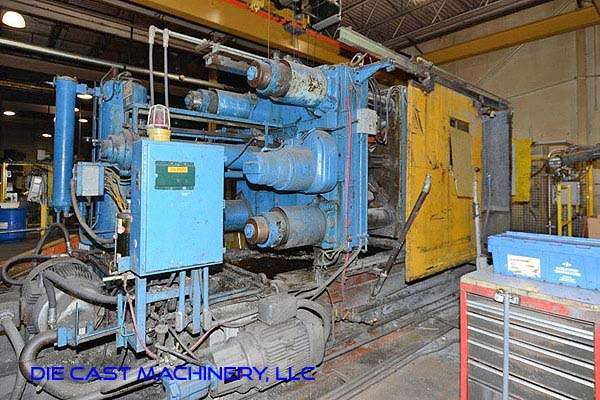 Picture of Prince 1246 CCA Horizontal Cold Chamber Aluminum High Pressure Die Casting Machine For Sale DCMP-3231