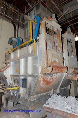 Picture of Striko Westofen MH II-N 2000/1500 G-eg Stack (tower/shaft) Type Stationary Aluminum Melting and Holding Furnace For Sale DCMP-3250