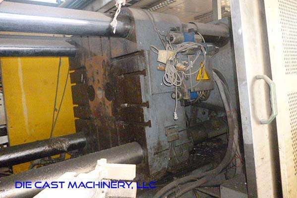 Used LK Machinery DCC-400 408 Ton Cold Chamber Die Casting