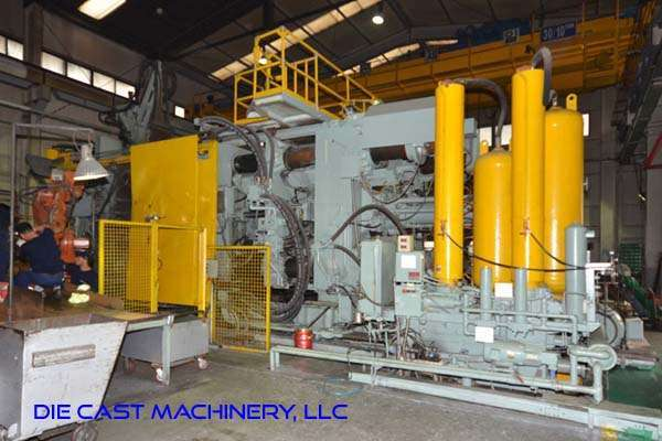 Picture of Prince 3067 CCA Horizontal Cold Chamber Aluminum High Pressure Die Casting Machine For Sale DCMP-3322