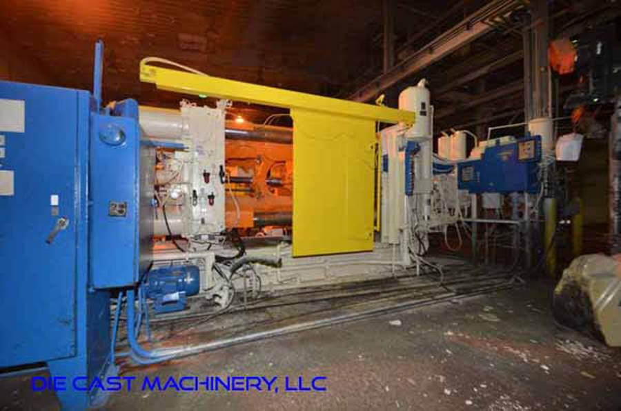 Picture of Prince 1246 CCA Horizontal Cold Chamber Aluminum High Pressure Die Casting Machine For Sale DCMP-3334