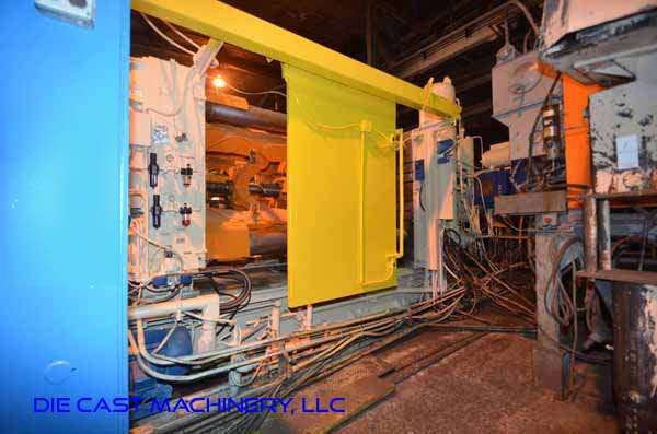 Picture of Prince 1246 CCA Horizontal Cold Chamber Aluminum High Pressure Die Casting Machine For Sale DCMP-3335