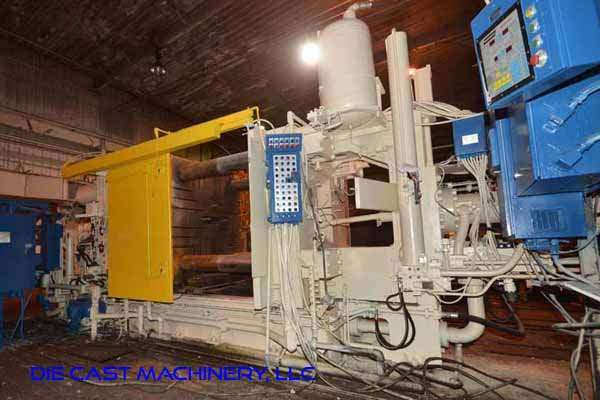 Picture of Prince 1246 CCA Horizontal Cold Chamber Aluminum High Pressure Die Casting Machine For Sale DCMP-3336