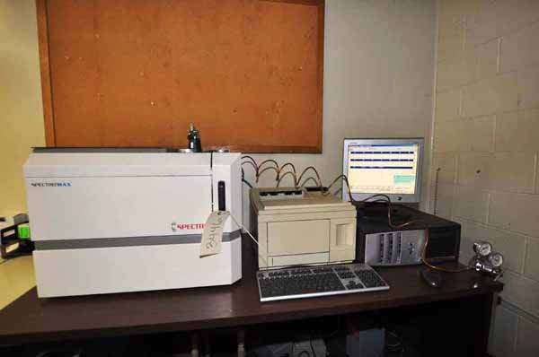 Picture of Spectro Analytical Spectromaxx CCD Metal Analytic Spectrometer For Sale DCMP-3446