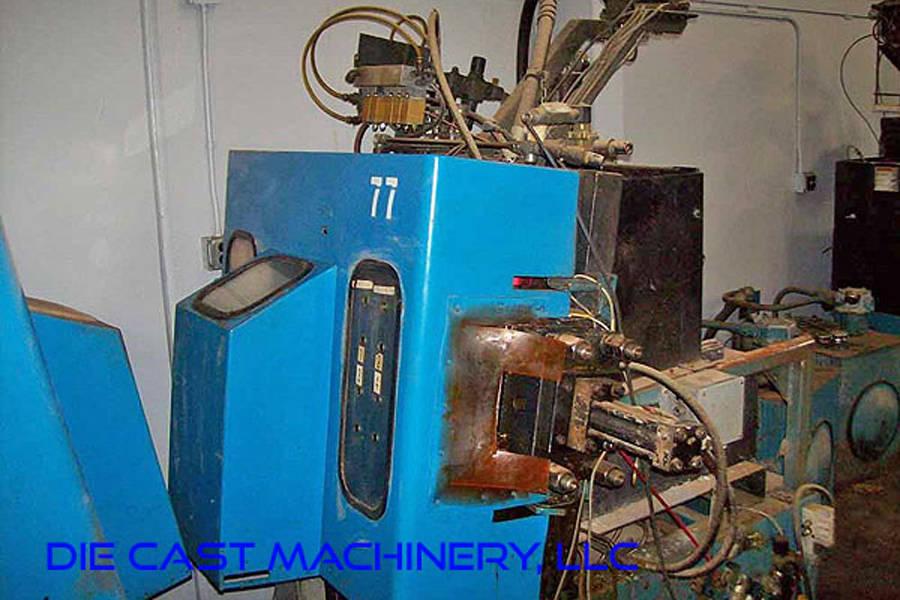 Picture of Techmire 66ZNT (6x6) Four Slide/Multi-slide Hot Chamber Zinc (Zamak) High Pressure Die Casting Machine For Sale DCMP-3491