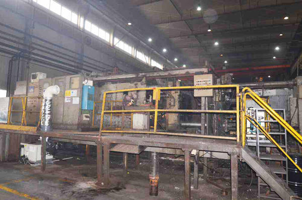 Picture of Idra OL 1500 Horizontal Cold Chamber Aluminum/Magnesium Capable High Pressure Die Casting Machine For Sale DCMP-3570