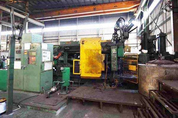Picture of Ube UB 500 GC Horizontal Cold Chamber Aluminum High Pressure Die Casting Machine For Sale DCMP-3591