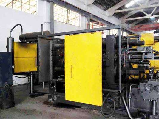 Picture of Kux-Wickes BH-400 Horizontal Cold Chamber Aluminum High Pressure Die Casting Machine For Sale DCMP-3595