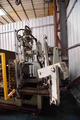 Picture of Toyo Machinery BD-125V2-CW Horizontal Cold Chamber Aluminum High Pressure Die Casting Machine For Sale DCMP-3616