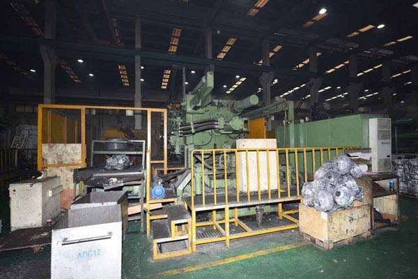 Picture of Idra OL 1600 Horizontal Cold Chamber Aluminum/Magnesium Capable High Pressure Die Casting Machine For Sale DCMP-3621