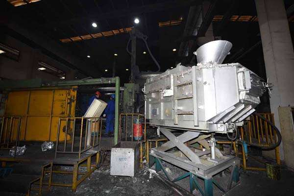 Picture of Idra OL 1600 Horizontal Cold Chamber Aluminum/Magnesium Capable High Pressure Die Casting Machine For Sale DCMP-3622