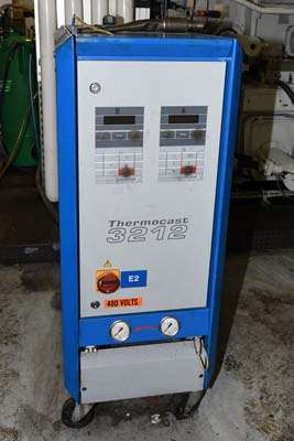 Used Robamat 3212 40 KW Hot Oil Heater unit with Cooling