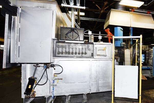 Picture of FW Schaefer AM-400 Reverberatory Type Wet Bath Stationary Aluminum Melting and Holding Furnace For Sale DCMP-3696