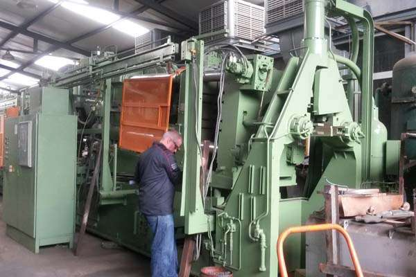 Picture of Idra Idra 560 MG Horizontal Hot Chamber Magnesium High Pressure Die Casting Machine For Sale DCMP-3731